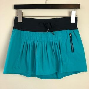 Lululemon Size 2 Skort Shorts Athletic Bottoms